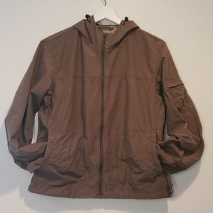 NWT COLUMBIA Arch Cape Cove Jacket in Mud